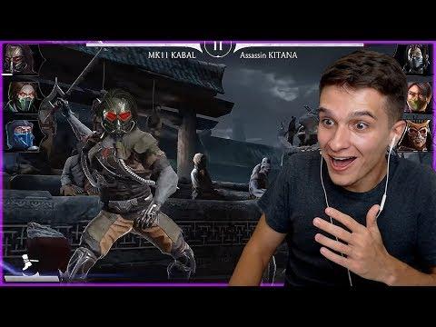 НЕРЕАЛЬНО КРУТАЯ ПАССИВКА! РЕАКЦИЯ НА КАБАЛА МК 11 В Mortal Kombat Mobile!