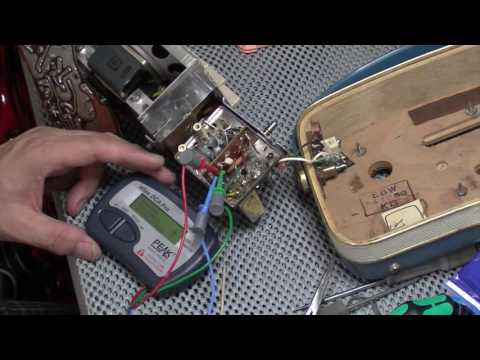 Bakers basket of radios: Nordmende Transita part 2, tracking down the fault and repairing it