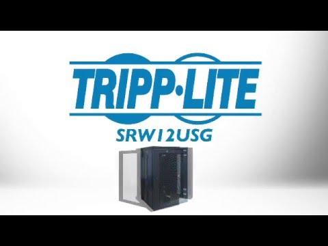 Tripp Lite 18U Wall Mount Rack Enclosure Cabinet SRW18US