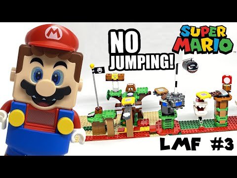 LEGO Super Mario NO JUMPING challenge ! - LMF #3