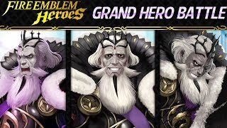 Fire Emblem Heroes - Grand Hero Battle: Garon INFERNAL+Lunatic F2P Guide