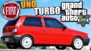 تجربة سيارة  Fiat Uno TURBO GTA V PC