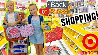 SISTERS BACK TO SCHOOL SHOPPING at TARGET! ✏️ (New School Update)