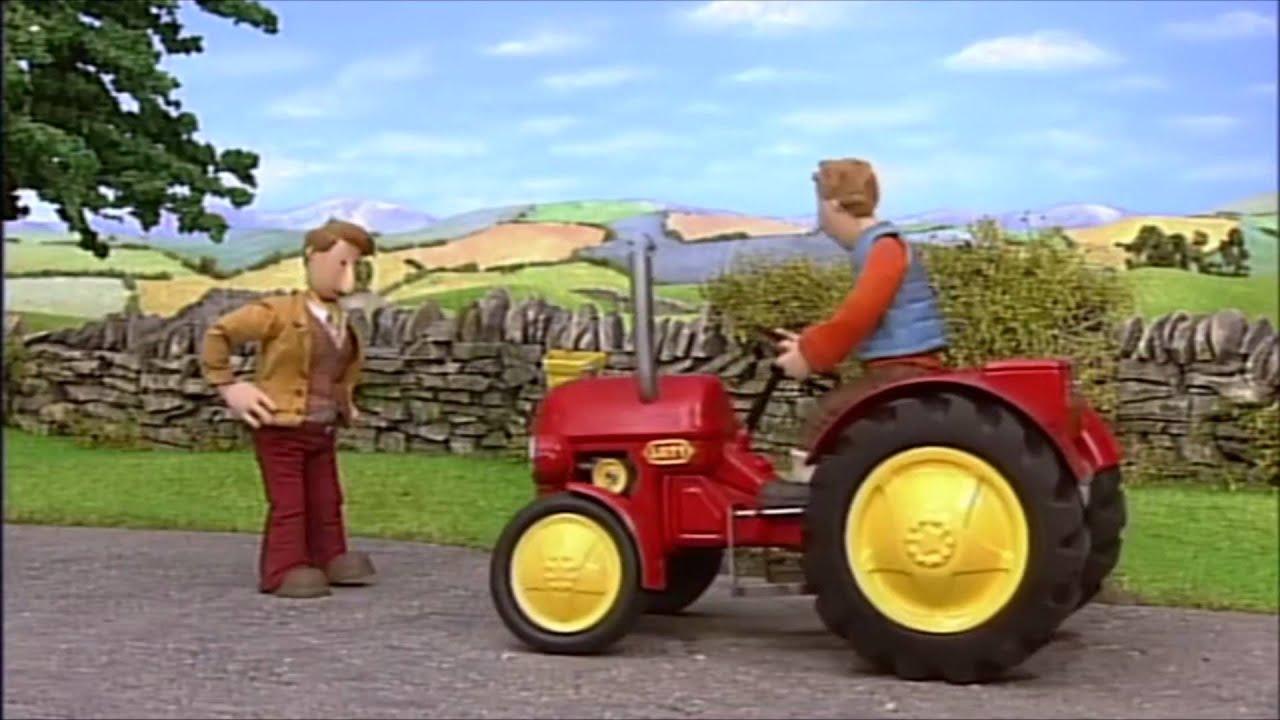 Piirretty Traktori