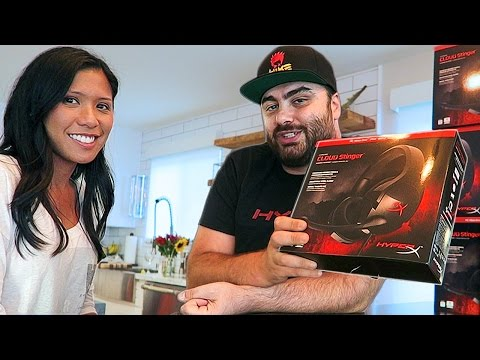 WIN SOMETHING COOL! : HyperX Cloud Gaming Headset UNBOXING & GIVEAWAY!!