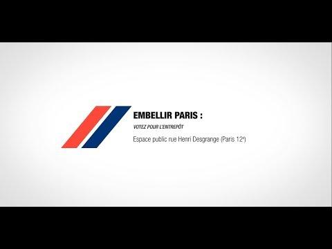 😍 #EMBELLIRPARIS : VOTEZ POUR LE PROJET « L'ENTREPÔT » DE CEMEX !