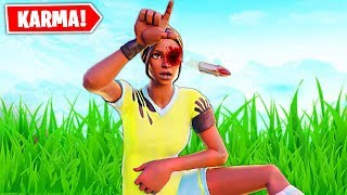 Top 10 ULTIMATE Fortnite INSTANT KARMA MOMENTS!