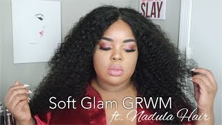 GRWM Requested Makeup Slay | ft. Nadula Hair | Sultry Eyes, Nudish Lip