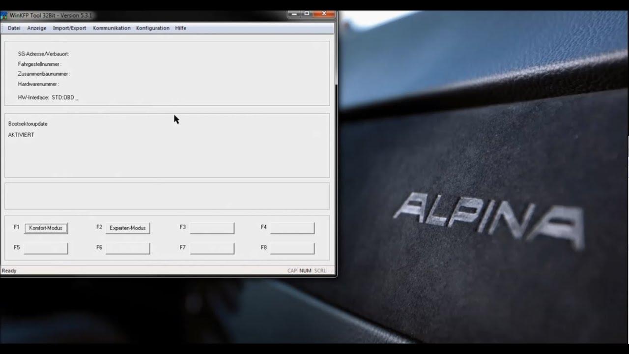 Alpina TCU Flash 335i Part 2 Flashing with WinKFP by Andreas Burkhardt