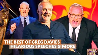 The BEST of Greg Davies | Hilarious BAFTA Speeches, Behind the Scenes of Taskmaster, Cuckoo & More