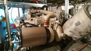 Moteur cummins 175 chvx 6 cylindre