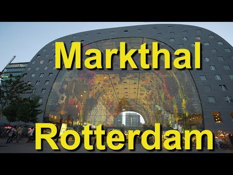 Markthal Rotterdam, Netherlands