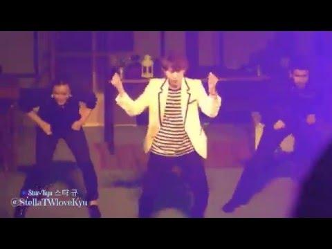 [Fancam] 160412 Knick Knack concert in Fukuoka - Dancing KYUHYUN