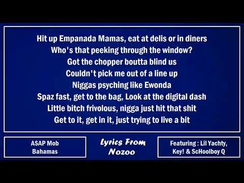 A$AP Mob - Bahamas (Lyrics) Ft. A$AP Rocky, A$AP Ferg,  Lil Yachty, ScHoolboy Q