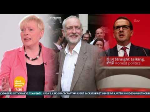 Owen Smith Announces Bid For Labour Leadership | Good Morning Britain