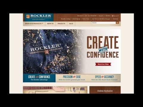 New Rockler.com Virtual Tour