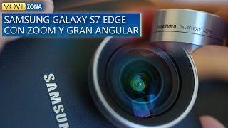 Samsung Galaxy S7 Edge con lentes Zoom y Gran Angular