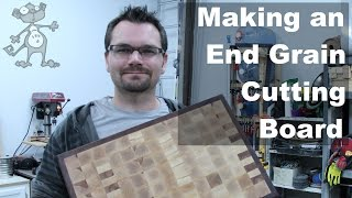 Making An End Grain Cuttingboard