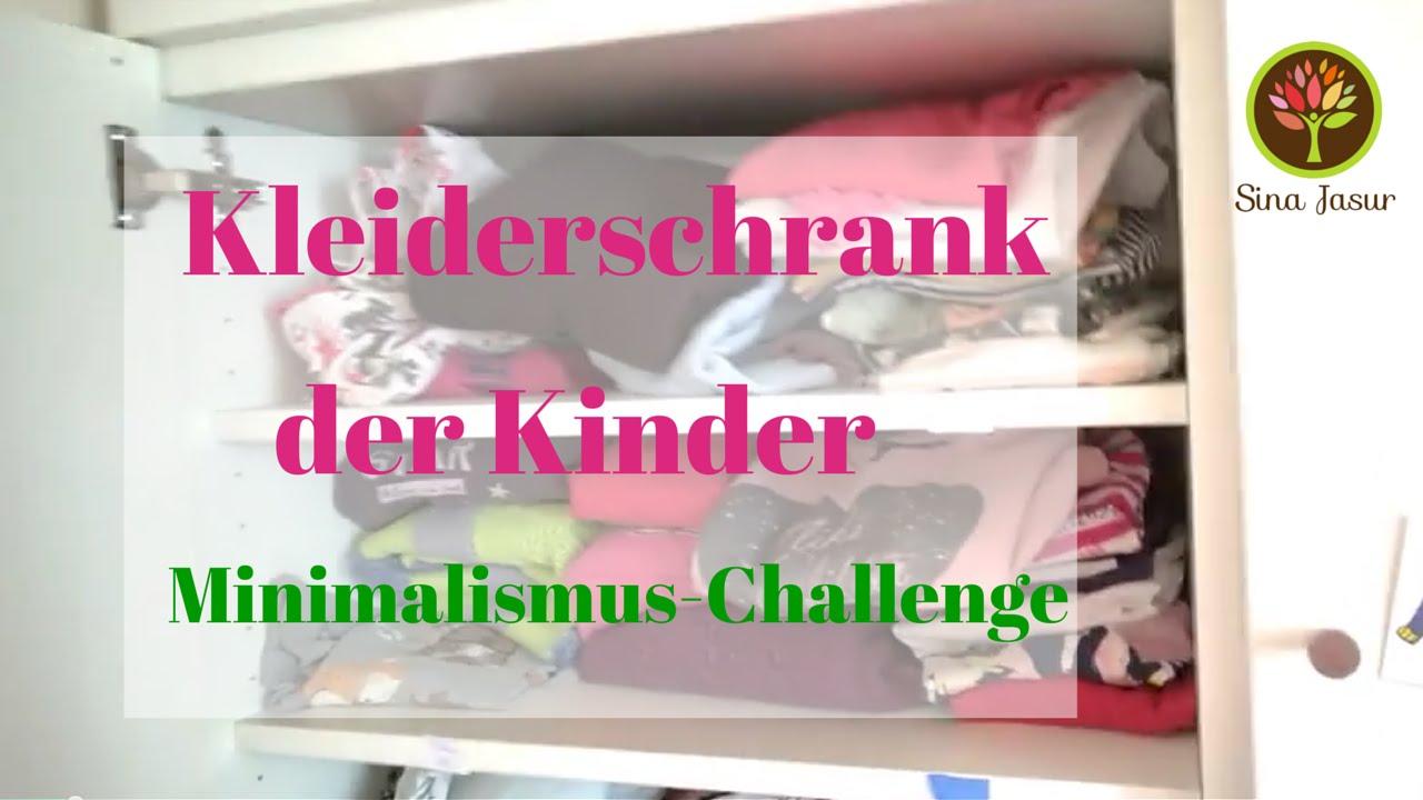 Den Kleiderschrank Der Kinder Ausmisten Minimalismus Challenge