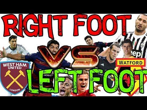 FIFA 17 EXPERIMENT - RIGHT FOOT VS LEFT FOOT