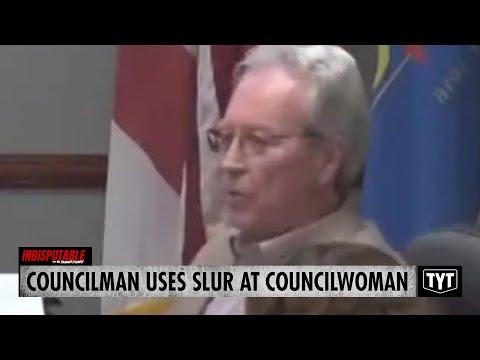 Councilman Uses RACIAL SLUR At Councilwoman