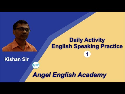 Daily Activity English Speaking Practice-1