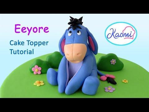 Eeyore Cake Topper