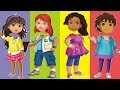 Wrong Heads Alice Diego  Mohana Dora And Friends Disney Junior The Explorer Finger Family Song