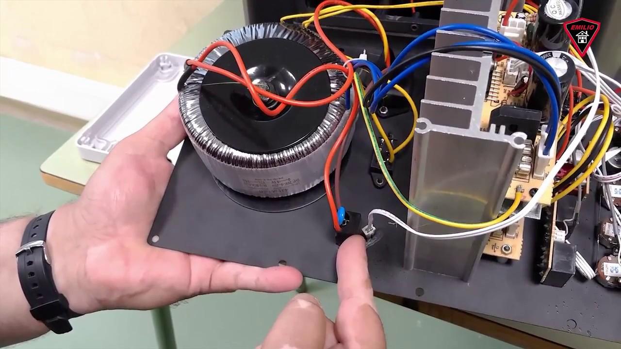 Reparación de caja acústica autoamplificada  YouTube