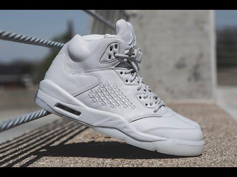 b99c59ee013e Shoe Review - Air Jordan 5 Premium Pure Platinum - YouTube