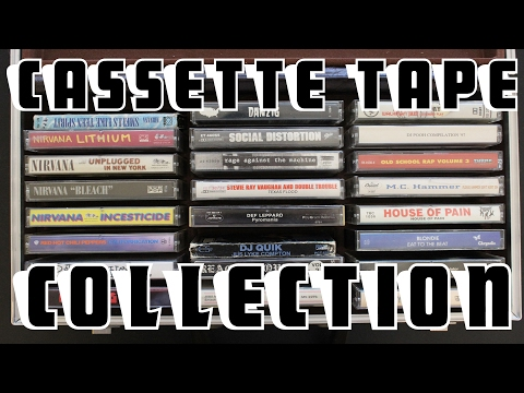 My Cassette Tape Collection