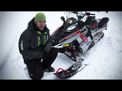 TEST RIDE: 2015 Polaris 550 Indy Adventure