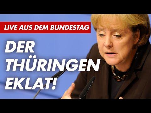 Thüringen-Eklat - 146. Sitzung des Bundestages - AfD-Fraktion im Bundestag live