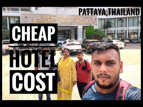First Day In Pattaya, Thailand | Cheap Hotels In Pattaya, Thailand | পাতায়াতে সস্তায় হোটেল রুম |