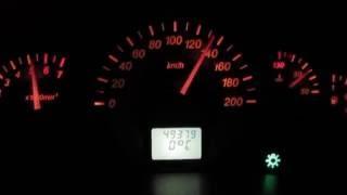 Lada 1119 turbo 4-я передача газ в пол 1.5 бара