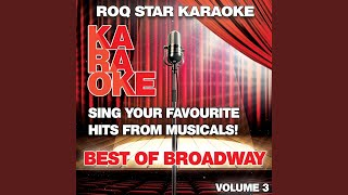 I Could've Danced All Night (Originally Performed By Fair Lady - The Musical) (Karaoke Version)