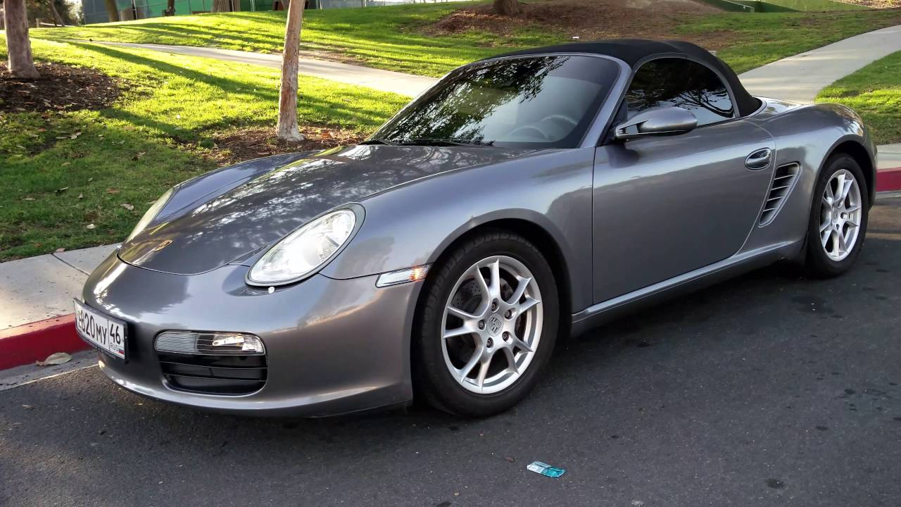 2006 Porsche Boxster 987