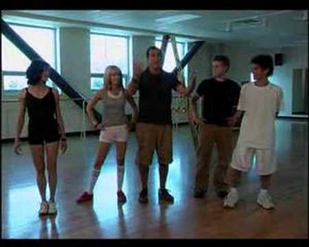 high school musical lucas & ashley dance to