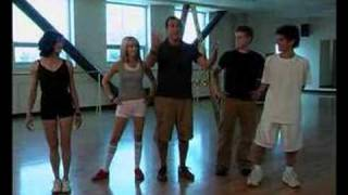 "high school musical lucas & ashley dance to ""bop to the top"""