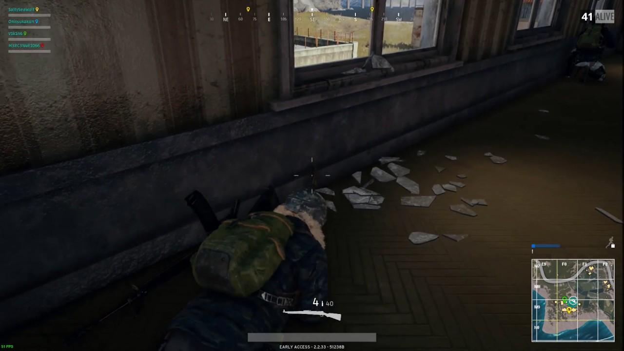 shooting through walls