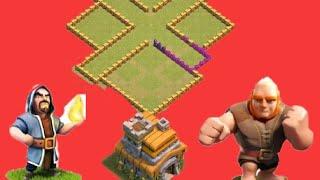 Coc th7 new 2k18 troll base