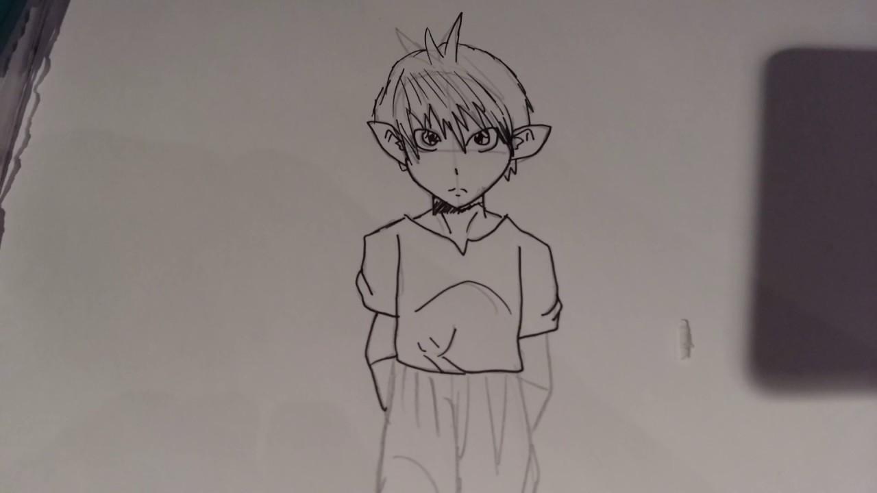 Tuto Dessiner Manga Garcon Facile Youtube
