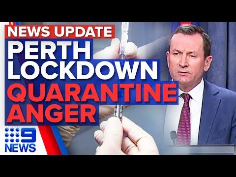 Perth lockdown D-Day, Hotel quarantine nightmare | Coronavirus | 9 News Australia