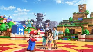 Universal Studios Japan - Super Mario World - First video