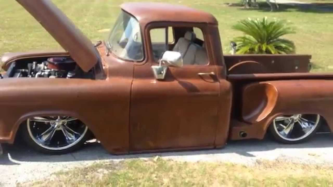 Truck 1955 chevy apache truck for sale : 1959 Chevy Truck - Rat Rod - YouTube