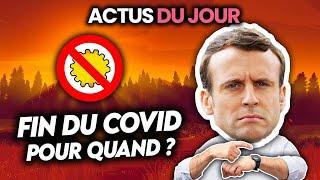 Date prévue de fin du Covid, scandale d'Etat en France, USA accusent l'Arabie Saoudite…Actus du jour