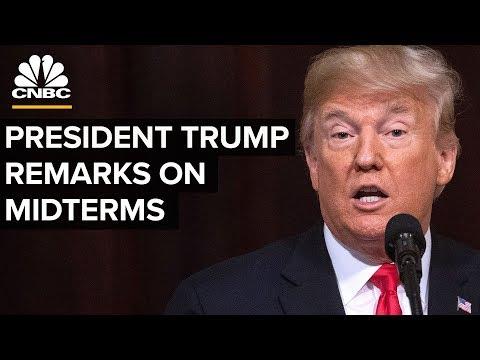 LIVE: President Trump Delivers Remarks on Midterms - Nov. 7, 2018