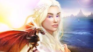 Daenerys Targaryen (مستوحاة) إنشاء سيم ل سيمز 4