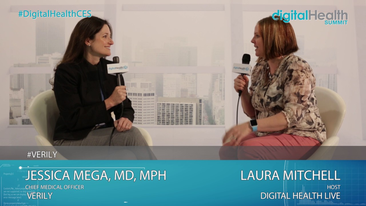 Jessica Mega (Verily) Interview @ 2017 Digital Health & Fitness ...