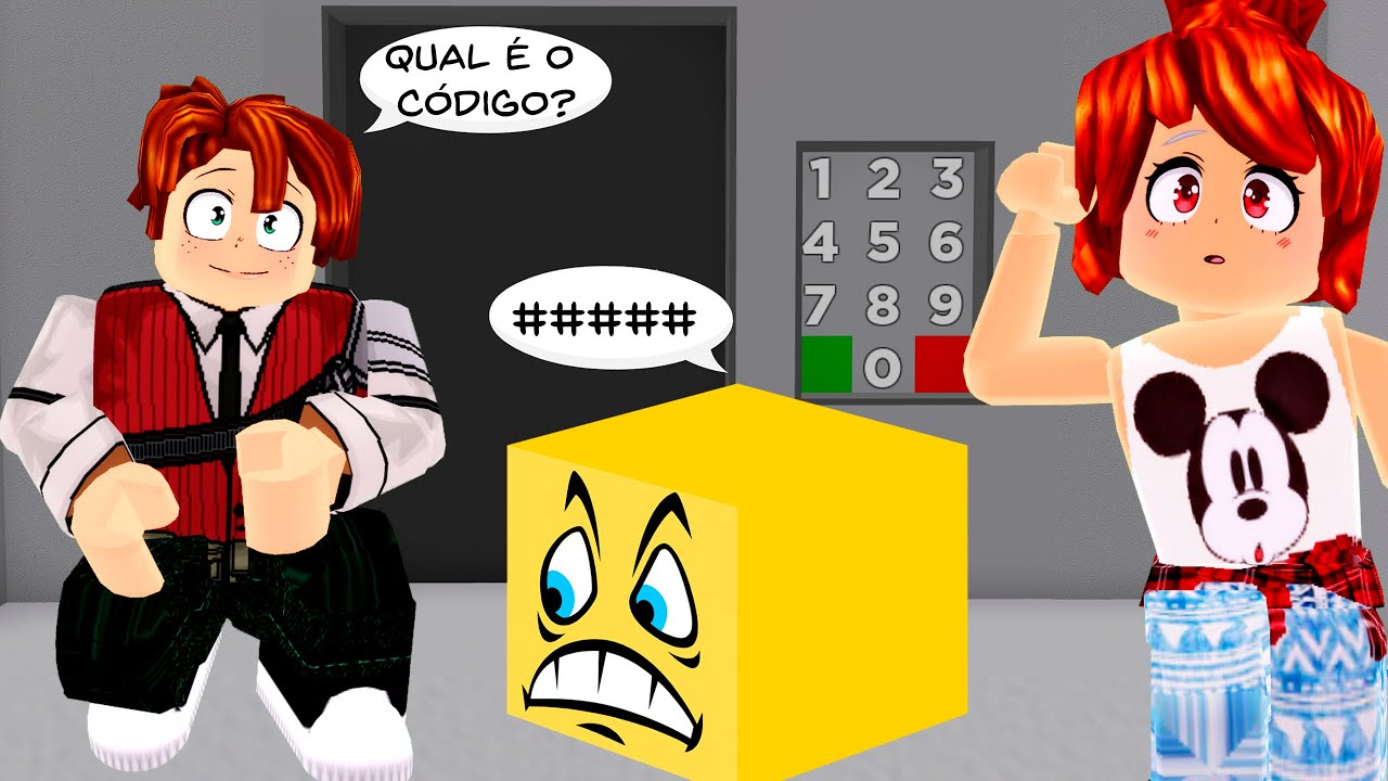 ENIGMAS DE CÓDIGOS NO ROBLOX (Untitled Door Game)